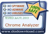 Chrome Analyzer is safe to download